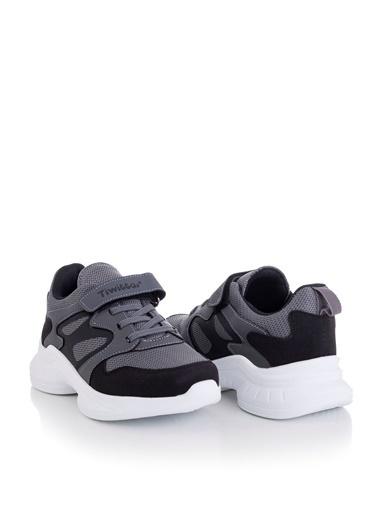 Tonny Black Füme Siyah Çocuk Spor Ayakkabı Tbk08 Füme